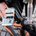 Izposoja kolesa v Kopenhagnu s pomočjo aplikacije