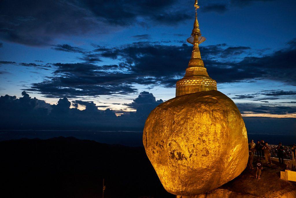 "Pagoda Kyaiktiyo (""Zlata skala""), Mjanmar"
