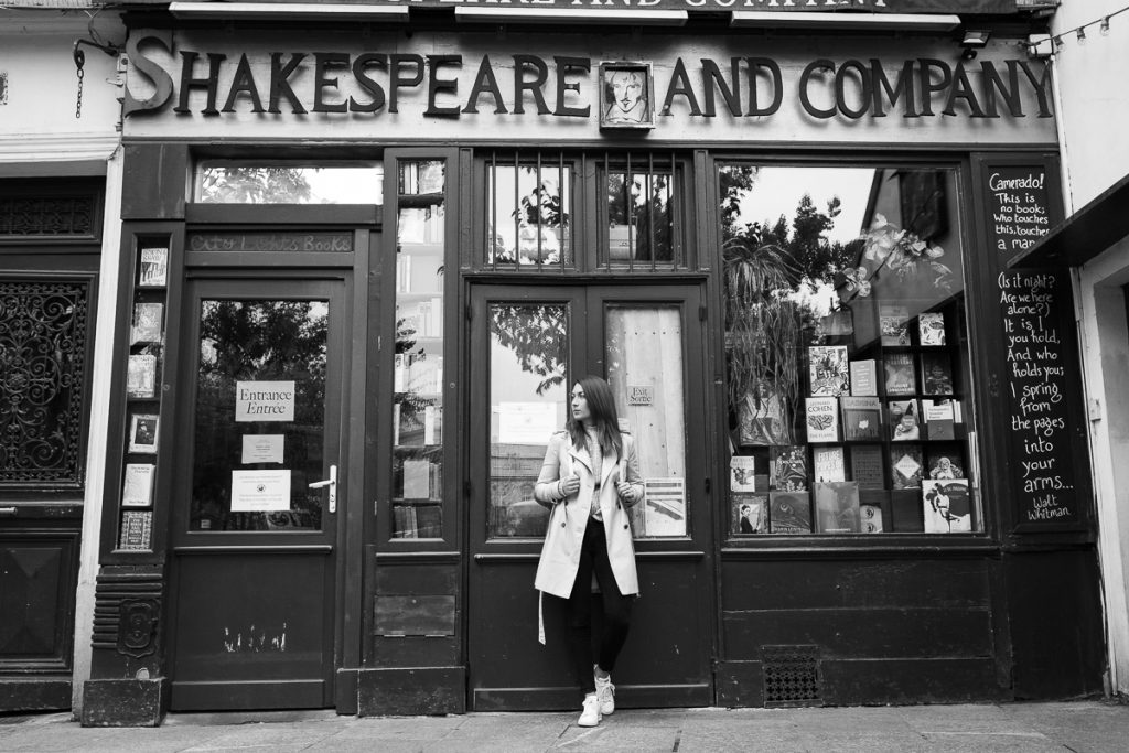 Knjigarna Shakespeare and Company, Pariz