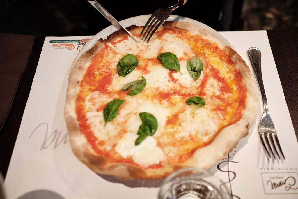 Rimska pica, restavracija Emma, izlet v Rim
