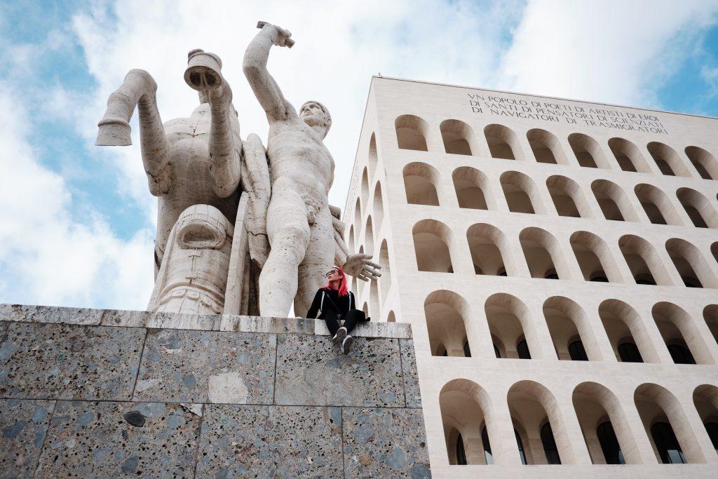 EUR (Esposizione Universale Roma), izlet v Rim