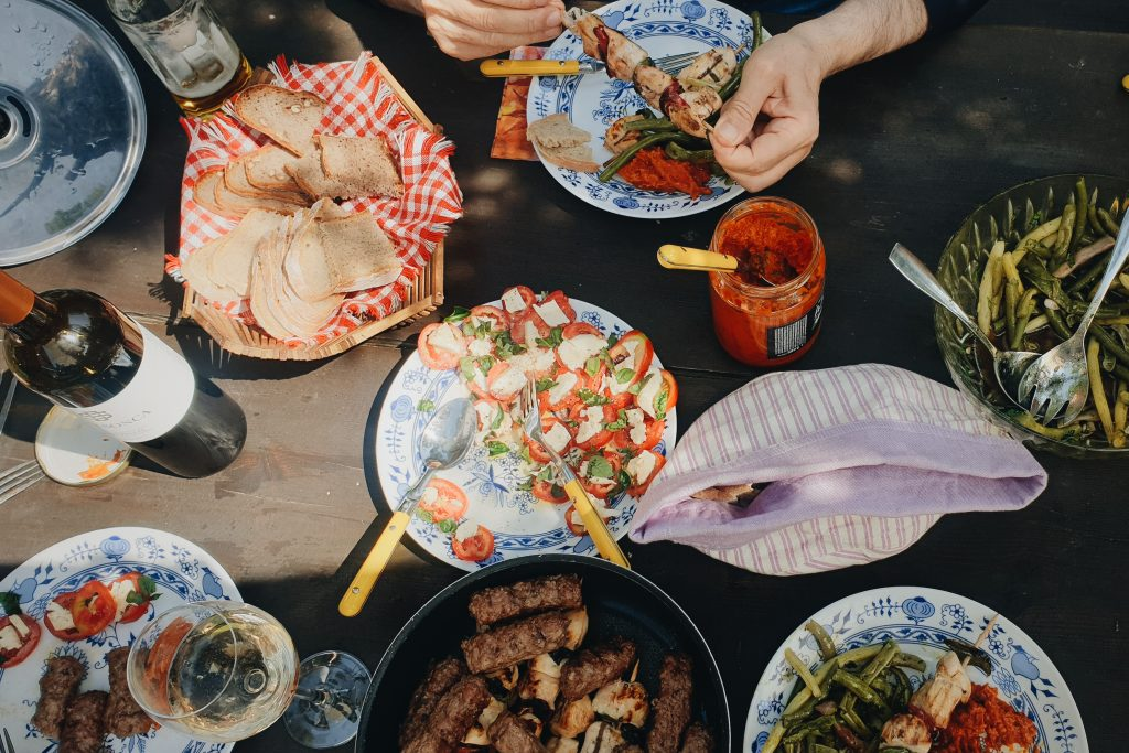 Zaključek izleta na Pohorje - piknik