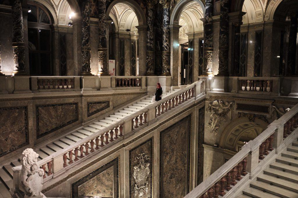 Umetnost na izletu na Dunaj