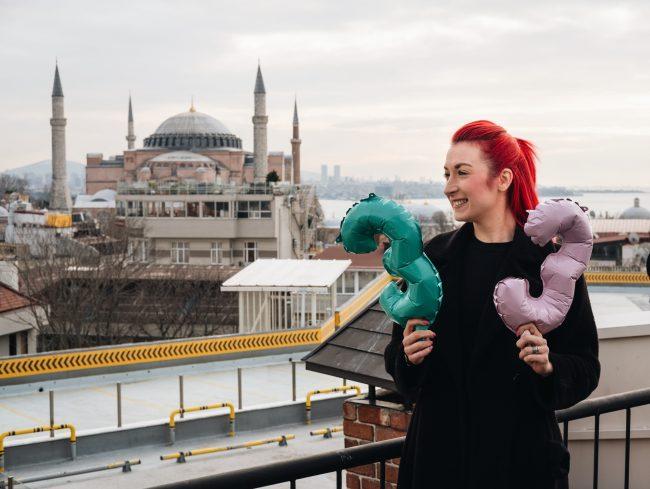 Praznovanje 33. rojstnega dneva na potovanju v Istanbul